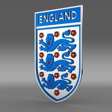 England football emblem  3D Model
