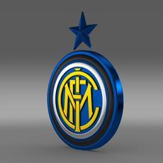 Inter football emblem   3D Model