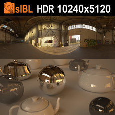 HDRI 127 Industrial Hall sIBL