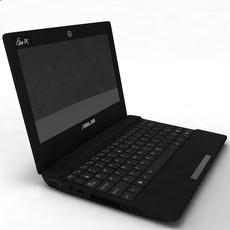 Laptop asus X101H 3D Model