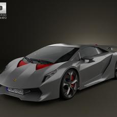 Lamborghini Sesto Elemento 2011 3D Model