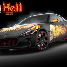 Maserati GT Hell std mat 3D Model