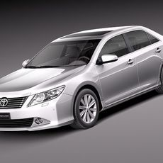 Toyota Aurion 2012 3D Model