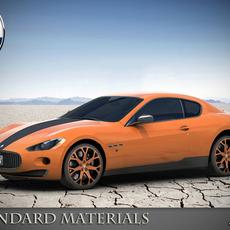 Maserati GT Masonry std mat 3D Model
