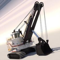 Bucyrus 495HR 3D Model