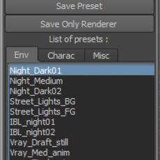 Lighting Preset for Maya 0.4.0 (maya script)