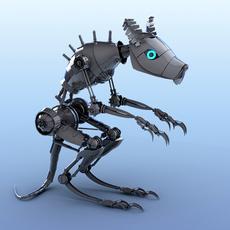 Mouse Robot 3D Model