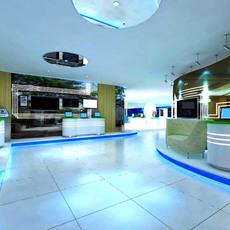 Commercial Space 001 3D Model