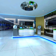 Commercial Space 002 3D Model
