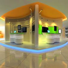 Commercial Space 004 3D Model
