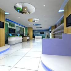 Commercial Space 006 3D Model