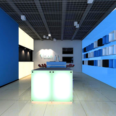 Commercial Space 012 3D Model