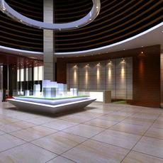 Commercial Space 013 3D Model