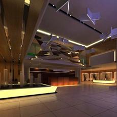 Commercial Space 014 3D Model