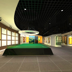 Commercial Space 015 3D Model