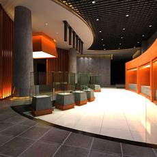 Commercial Space 018 3D Model