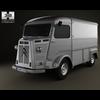 Citroen H Van 1980 3D Model