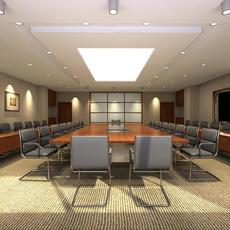 Conference Room 005 3D Model