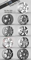 Kia Ceed Rims collection  3D Model