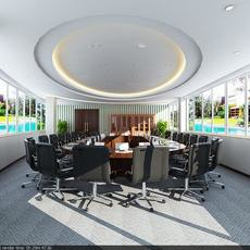 Conference Room 016 3D Model