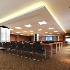 Conference Room 027 3D Model