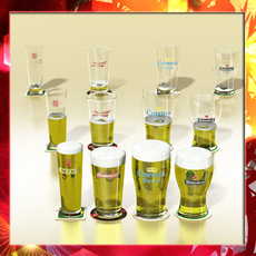 Beer Glass Collection 3D Model