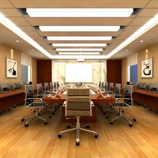 Conference Room 062 3D Model