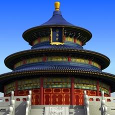 Temple Of Heaven 3D Model