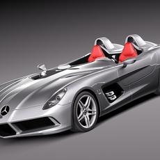 Mercedes-Benz SLR Stirling-Moss 3D Model
