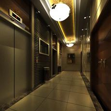 Elevator Space 12 3D Model