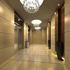Elevator Space 16 3D Model