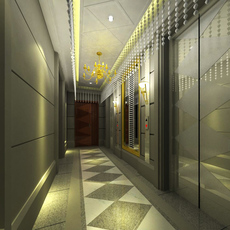 Elevator Space 15 3D Model