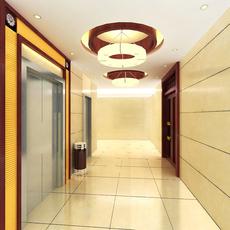 Elevator Space 18 3D Model