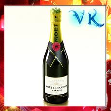 Champagne Moet Chandon Bottle 3D Model