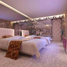 Guest room 008 3D Model