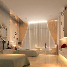 Guest room 009 3D Model