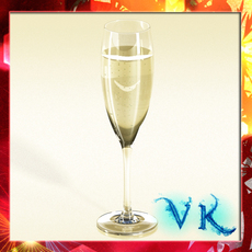 Champagne Cup 3D Model