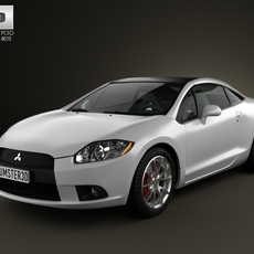 Mitsubishi Eclipse 2012 3D Model