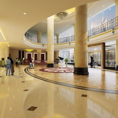 Lobby 232 3D Model