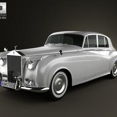 Rolls-Royce Silver Cloud II saloon 1959 3D Model