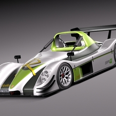 Radical SR8 2012 race car 3D Model