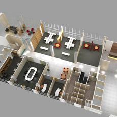 Office 042 3D Model