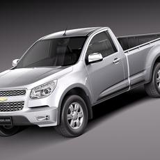 Chevrolet Colorado 2012 Regular Cab 3D Model