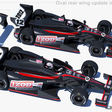 Indycar 2012 - DW001 3D Model