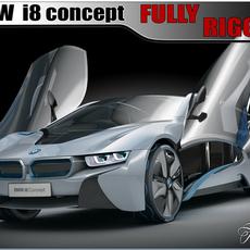 BMW i8 concept 3D Model