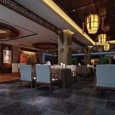 Restaurant 054 3D Model