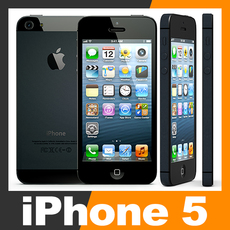 Apple iPhone 5 3D Model