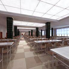 Restaurant 085 3D Model