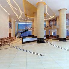 Restaurant 090 3D Model