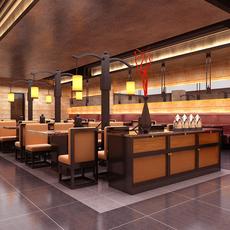 Restaurant 095 3D Model